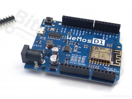 ESP8266 NodeMCU WiFi dev. board - WeMos D1 R2