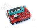 AVRISP Shield voor Arduino met buzzer
