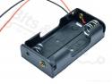 Batterijbox/Batterijhouder AA Penlite x 2 (3V)