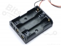 Batterijbox/Batterijhouder AA Penlite x 3  (4,5V)