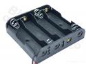 Batterijbox/Batterijhouder AA Penlite x 4  (6V)