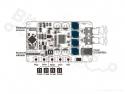 Audioversterker Bluetooth V4.0 Stereo 2x25W TDA7492P
