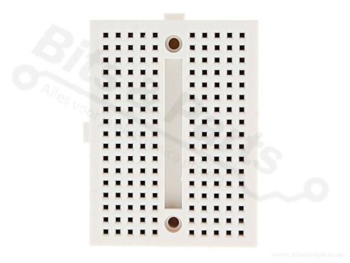 Breadboard 170 pins wit - universeel experimenteer board