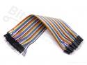 Breadboard jumper kabeltjes Dupont 20cm male/male 40x