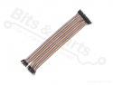 Breadboard jumper kabeltjes Dupont 30cm male/male 40x