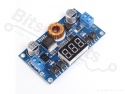 Buck Step Down DC-DC Converter Uin:4-40V Uout:1,25V-37V met Display