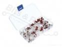 Condensator set metaal/polyester film (100-delig)