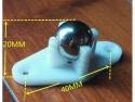 Ball caster wheel / kogelwieltje metaal 0,6inch/1,56cm