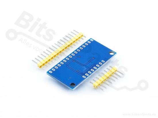 4067 16-kanaals analoge multiplexer/demultiplexer breakout board