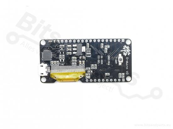 ESP8266 NodeMCU WiFi dev  board -D-Stike D-Duino v3 met 0,96inch OLED