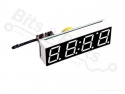 Display DS3231SN 3-in-1 klok / temperatuur / voltage rood