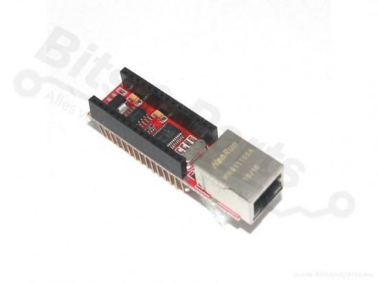 Ethernet/LAN netwerk shield ENC28J60 voor Arduino Nano
