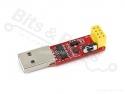 USB Programmer voor ESP8266 met schakelaar
