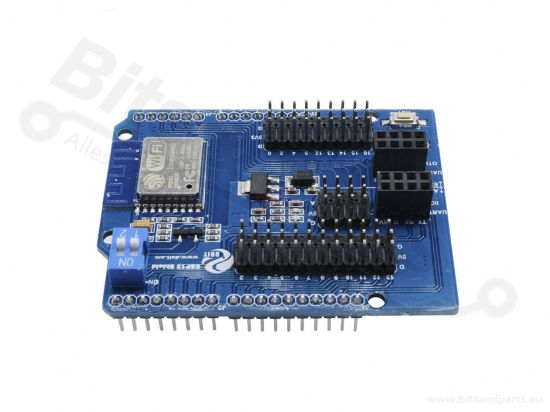 ESP8266 Wifi Shield webserver/webclient voor Arduino UNO/MEGA