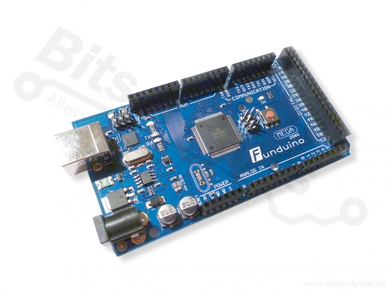 Arduino Mega 2560 met USB kabel (open-source kloon)