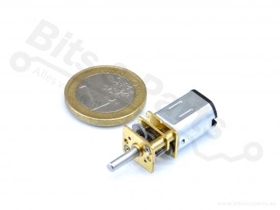 Motor DC Micro met gears 12V 1000RPM Type N20