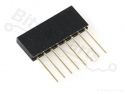Headerpins stackable 11mm  8 pins