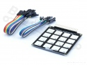 Capacitief keypad 4x4 met 16 vlakken (zonder sensor)
