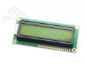 Display LCD HD44780 - 16x2 zwart op geel-groen