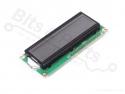 Display LCD HD44780 - 16x2 wit op zwart