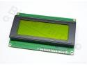 Display LCD HD44780 - 20x4 zwart op geel-groen