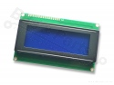 Display LCD HD44780 - 20x4 wit op blauw