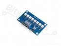 LED Board met 8 RGB 5050 LEDs voor niveauindicatie