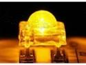 Super-bright Piranha LED 5mm helder oranje