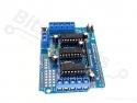 Motor/stepper shield L293D voor Arduino