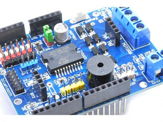 Motor/stepper shield L298P voor Arduino