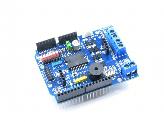 Motor/stepper shield L298P voor Arduino