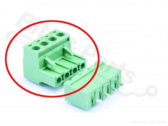 Pluggable terminal 4-pins female Dinkle 5ESDV