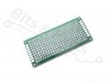 Prototyping board / PCB Fiberglass/Glasvezel (10x24gaats / 3x7cm)