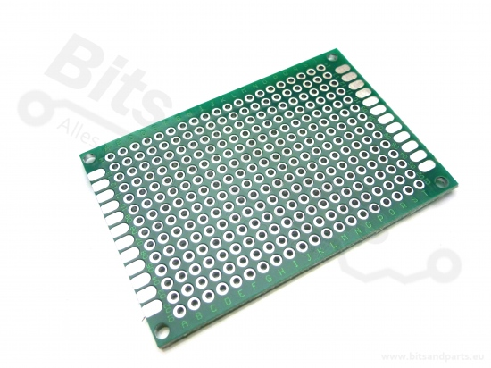 Prototyping board / PCB Fiberglass/Glasvezel (18x24gaats / 5x7cm)
