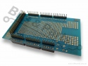 Prototype shield met mini breadboard voor Arduino Mega 2560