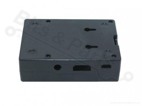 Behuizing / Case Raspberry Pi B+/2/3 Aluminium Zwart