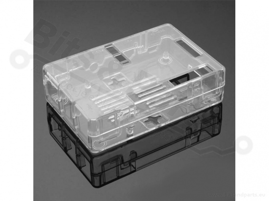 Behuizing / Case Raspberry Pi B+/2/3 ABS helder