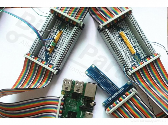 Expansion / GPIO board Raspberry Pi 2/3 - cascading 40 pins