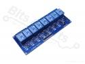 Relais board 8-kanaals 5V - optocoupled