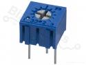 Weerstand regelbaar / precisie potentiometer type 3362P 100 Ohm