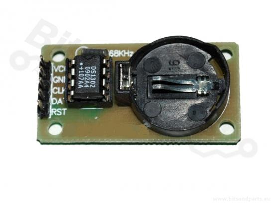 Real Time Clock/ RTC DS1302 - Tijdklok breakout board/module