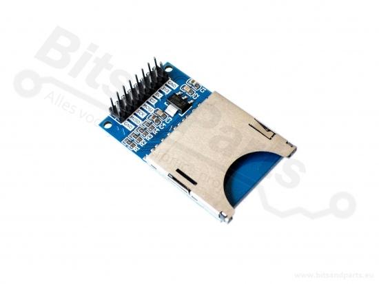 SD Card Reader/Kaartlezer breakout board/module SPI