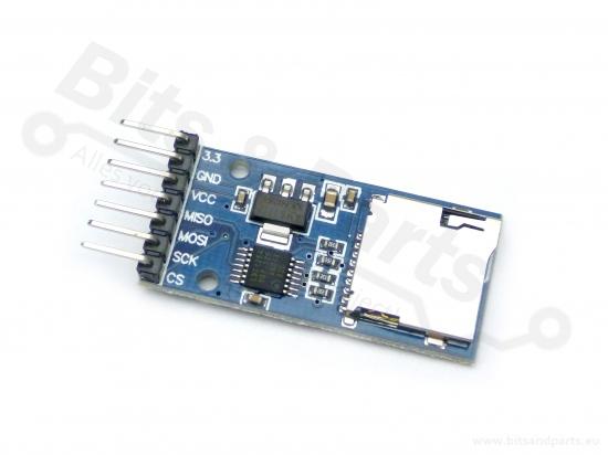 SD Card Reader/Kaartlezer breakout board/module SPI MicroSD