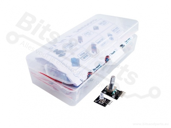 Sensorkit 37-in-1 voor Arduino/Raspberry Pi in opbergbox