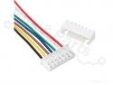 Signaalconnector 7-polig JST XH 2.54mm met draad en socket 15cm