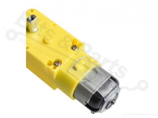 Motor voor smart cars en robots 3-6V met metalen as