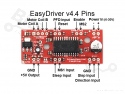 Stappenmotor driver EasyDriver A3967 V44