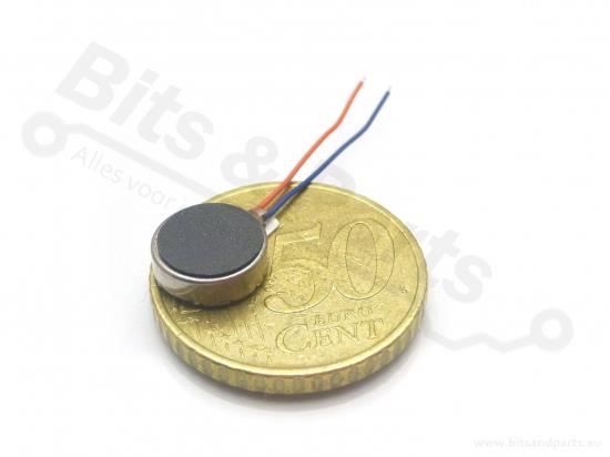 Trilling/vibratie motortje 10mm rond 3-4,5V