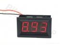 Digitale voltmeter met display rood 3,2-30,0V