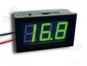 Digitale voltmeter met display groen 3,2-30,0V